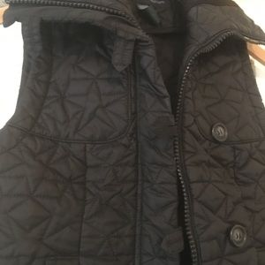 French Connection Star Quilted Zip Vest
